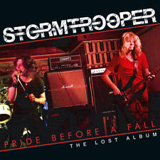 STORMTROOPER- Pride Before A Fall- The Lost Album LIM.500 CD with JAGUAR singer