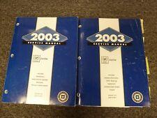 2003 Cadillac DeVille Sedan Shop Service Repair Manual Set DTS DHS 4.6L V8