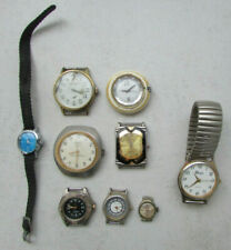 Lot de 9 anciennes montres dont Alexis, Kelton, Precis, Mougin Piquard, Besançon