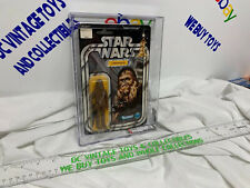Vintage 1978 KENNER STAR WARS CHEWBACCA MINT 12 BACK A CARD AFA 80