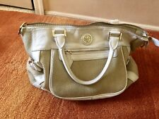 tory burch handbag Straw Canvas And Leather