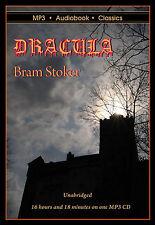 Dracula - Unabridged MP3 CD Audiobook in DVD case