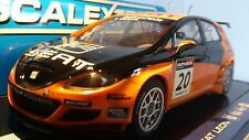 Scalextric C2762 Seat Leon WRC black/orange NEW 1/32 sacle 1:32 Scale (PL)
