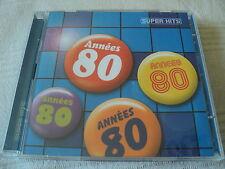 """COFFRET 2 CD """"SUPER HITS - ANNEES 80"""" 40 titres"""