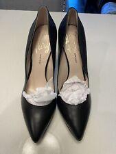 Nine West Love Fury Black Platform Pointed-Toe Stiletto-Heel Pumps Size 10
