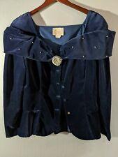 Watters & Watters Jacket - Navy - Size 12