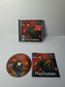 C-12 Final Resistance - Sony Playstation PS1  - UK PAL video game - disc VGC