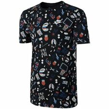 Nike Cotton Blend Crew Neck T-Shirts for Men
