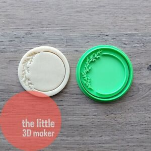 Branches Leaf Leaves 1 Cookie Cutter Stamp Fondant Embosser 3D Printed