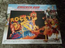 Chicken Run lobby cards - Animation - Set of 8