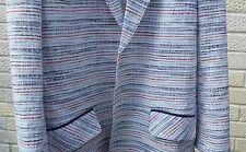 £ 240 Tommy Hilfiger collezione Blazer. bianco rosso & blu. Taglia 6/8.