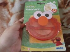 CLOSEOUT SALE! Imported From USA! Sesame Street BPA FREE Elmo Crust Cutter #4