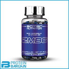 Scitec Nutrition ZMB6 Zinc Magnesium Vitamin B6 ZMA Test Booster