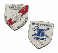 US Army Blue Knights VMM365 Challenge Coin