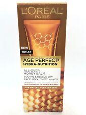 L'Oreal Paris Skincare Age Perfect Hydra Nutrition All Over Honey Balm-1.7oz