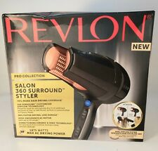REVLON PRO COLLECTION SALON 360 SURROUND STYLER / DRYER Free shipping