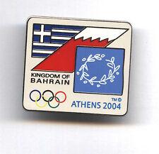 ULTRA RARE BAHRAIN NOC pin dated Athens 2004 NOC badge