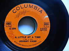 johnny CASH A little at a time / in the jailhouse now COLUMBIA 4-42425