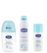 Neutro Roberts deos set Fresco Fresh Deodorant Deo Stick spray vapo 48h