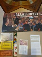 """Masterpiece"" The Art Auction Game by Parker Board Games 1970 Great Condition"