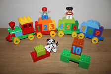 Lego Duplo 10558 - Numbers Train - Counting, Learning Construction Playset - VGC