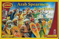 Gripping Beast Saga/Swordpoint Arab Spearmen & Archers Plastic 28mm New!