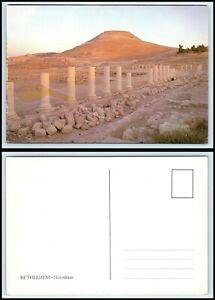 ISRAEL Postcard - Bethlehem, Herodium BX