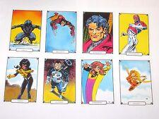 1988 Marvel Universe IV 4 Heroic Origins Comic Images SINGLE CARD! UPDATED 7/1