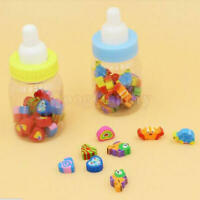 50pcs Mini Cute Cartoon Number Rubber Pencil Eraser For Children Stationery Gift
