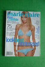 MARIE CLAIRE JUNE 1996 COVER  CLAUDIA SCHIFFER MODEL FASHION