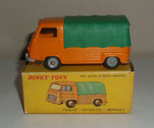 "FRENCH DINKY TOYS NO.563 PICK-UP ""ESTAFETTE"" RENAULT ORANGE/GREEN 1960'S IN BOX"