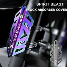 SPIRIT BEAST Motorcycle Shock Absorbers Protection Cover Scooter ATV MotorBike