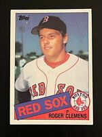 1985 Topps Roger Clemens Rookie Card #181 Boston Red Sox