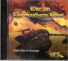 Total War in Europe: War on the Southern Front by John Tiller (HPS, 2009, PC)