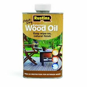 Rustins Exterior Wood Oil - 1 litre