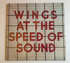 Paul McCartney Wings at the Speed of Sound Vinyl LP Record Album 1st Edition '76