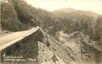 Del Norte California Smith River Redwood Highway RPPC 1935 Patterson 8928