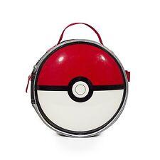 "New Arrive Nintendo Pokemon Pokeball 8.5"" Insulated Lunch Bag/Kit Back to School"