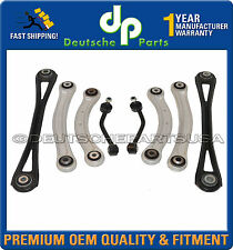 PORSCHE CAYENNE REAR UPPER LOWER Control Arm arms TRACK ROD Suspension Kit 8