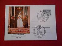 Postkarte Original Königin Elisabeth 2.Staatsbesuch in Deutschland Mai 1965