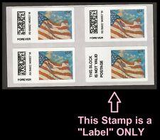 US CVP91 Flag at Dusk Vended ATM forever block Not Valid MNH 2014