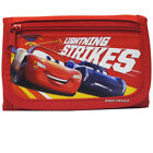 Disney Car Authentic Licensed Canvas Trifold Red Wallet for Children