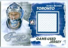 "JAMES REIMER ""GOLD GAME USED JERSEY CARD"" ITG FOREVER RIVALS"