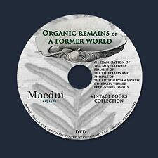 Organic remains of a former world – Vintage Books 3 E-books PDF on 1 DVD Fossils