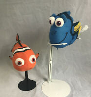 Dinsey Finding Nemo Dory Plush Lot of 2 Fish Toys