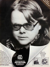 Paul Williams 1973 - 1979 Billboard Promotional Ads / Zoo World Poster