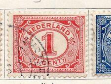Países Bajos 1898-1919 rápida de los problemas Fine Used 1c. 129456