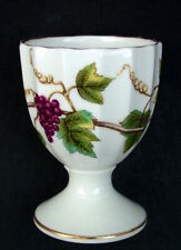 Royal Worcester Bacchanal Pattern Ivory Eg Cup 6.25cm High - Looks in VGC