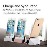 El Cable USB Data Sync Cargador Dock Stand Estación de Carga Para iPhone 6 7 8 X