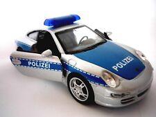 Porsche 911 Polizeiauto Einsatzfahrzeug TatüTata Police Wellyfahrzeug